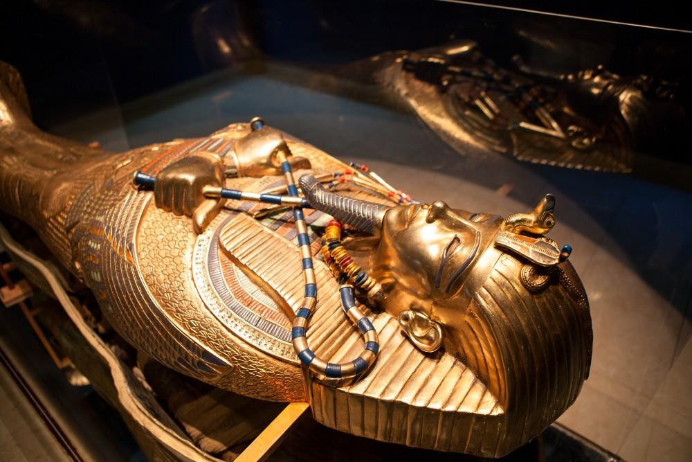 Sarcophage de Toutânkhamon